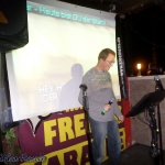 Outdoor-Karaoke im Kleemens